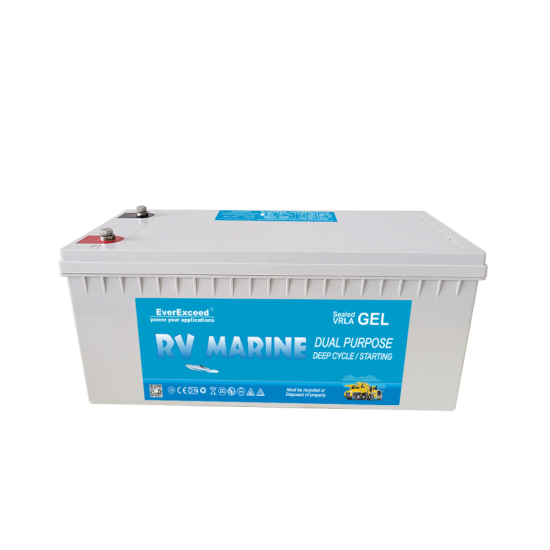 12 V Marine-Gel-Batterie