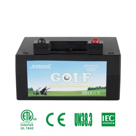Golf Trolley Lithium Iron Phosphate Battery